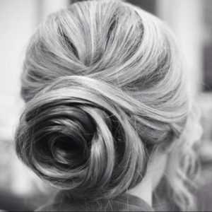 peinado novia pelo recogido