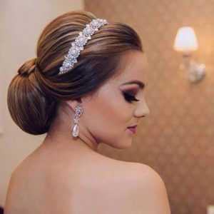 peinado para novia bajo