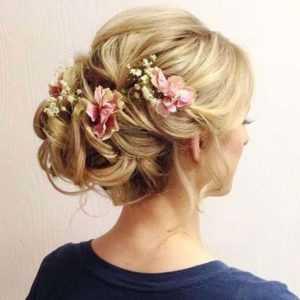 peinado pelo recogido para novia
