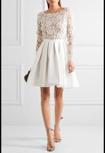 vestido corto de boda